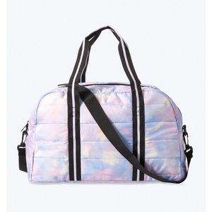 PINK Victoria's Secret Tie Dye Duffel Bag
